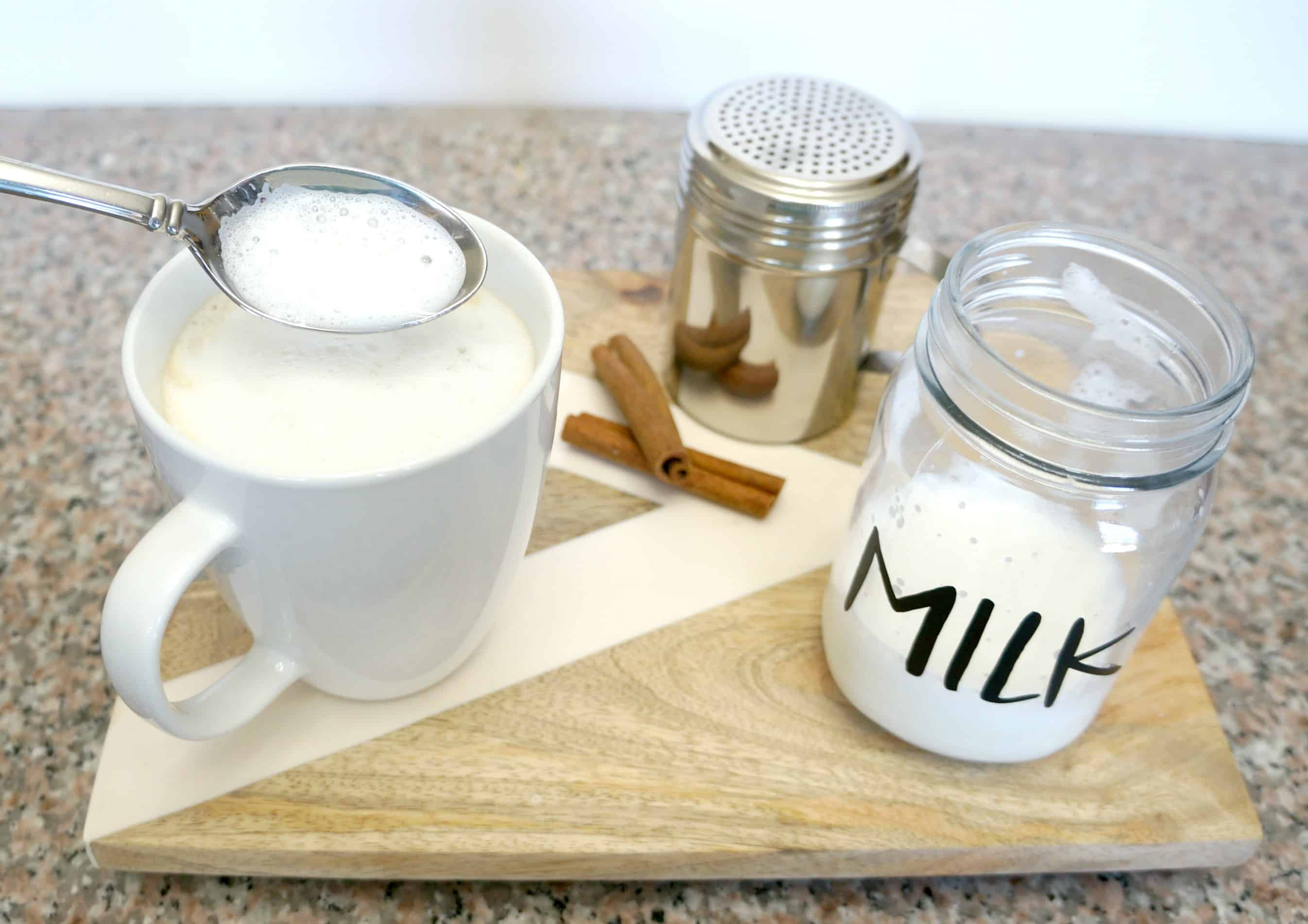 how to foam milk for coffee