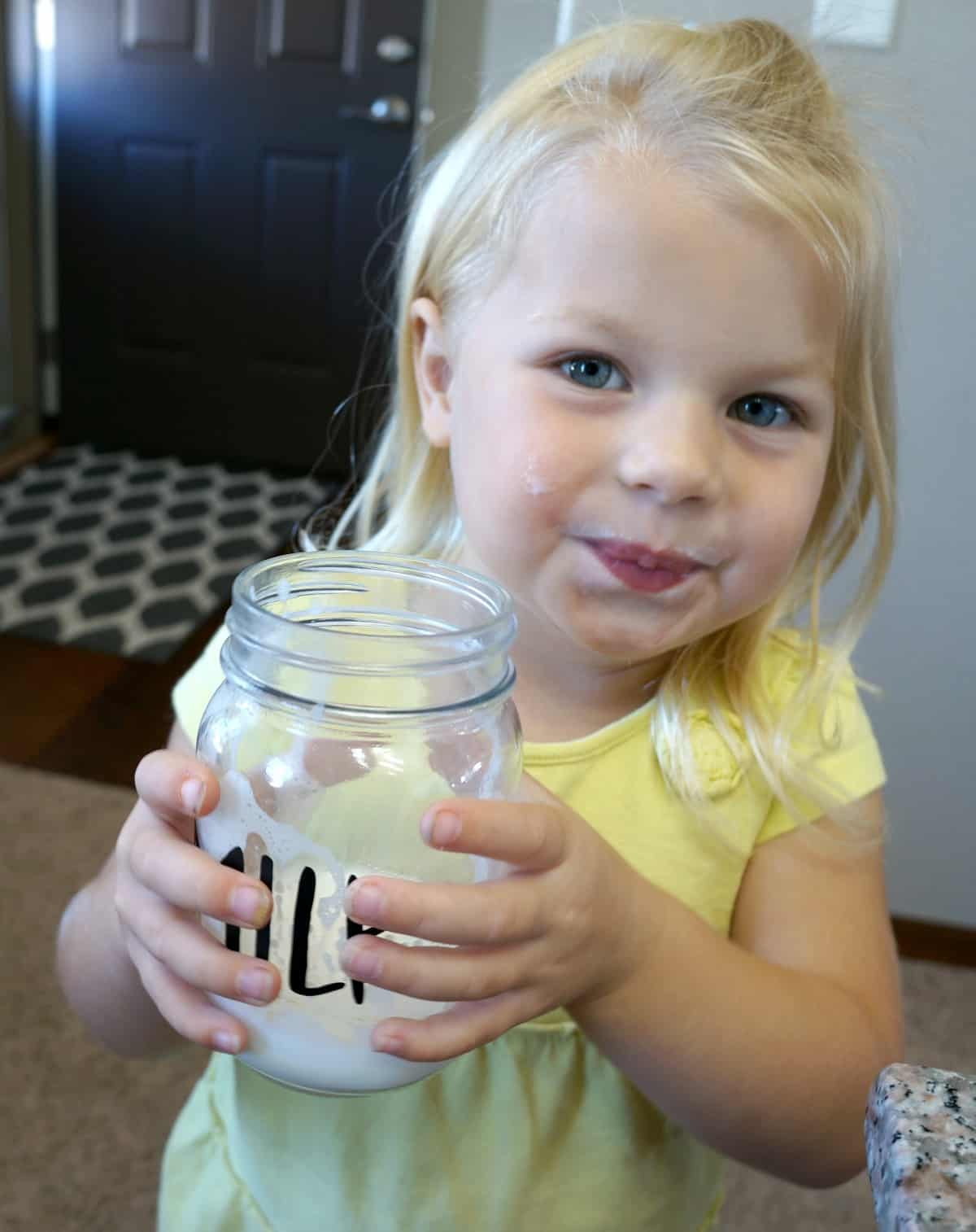 how to foam milk with kids