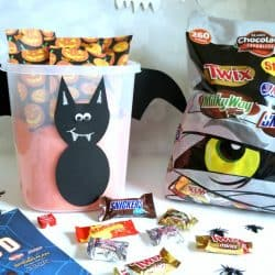 Create a BOO Kit with a Halloween Bat Template