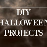 My Favorite DIY Halloween Projects