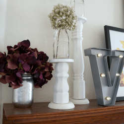 DIY Fall Mantle Decor