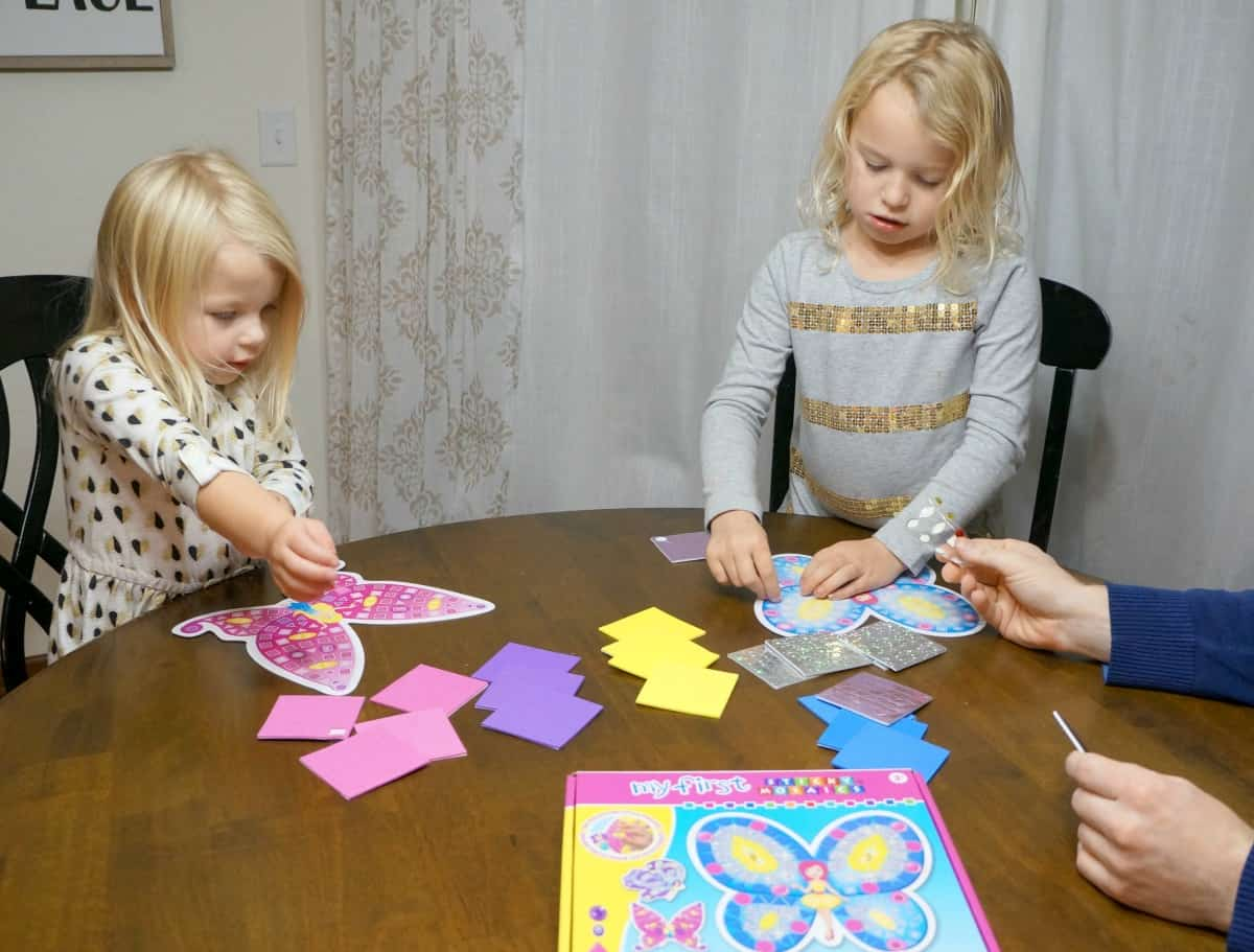 Easy Dinner Idea and craft time for Busy Families