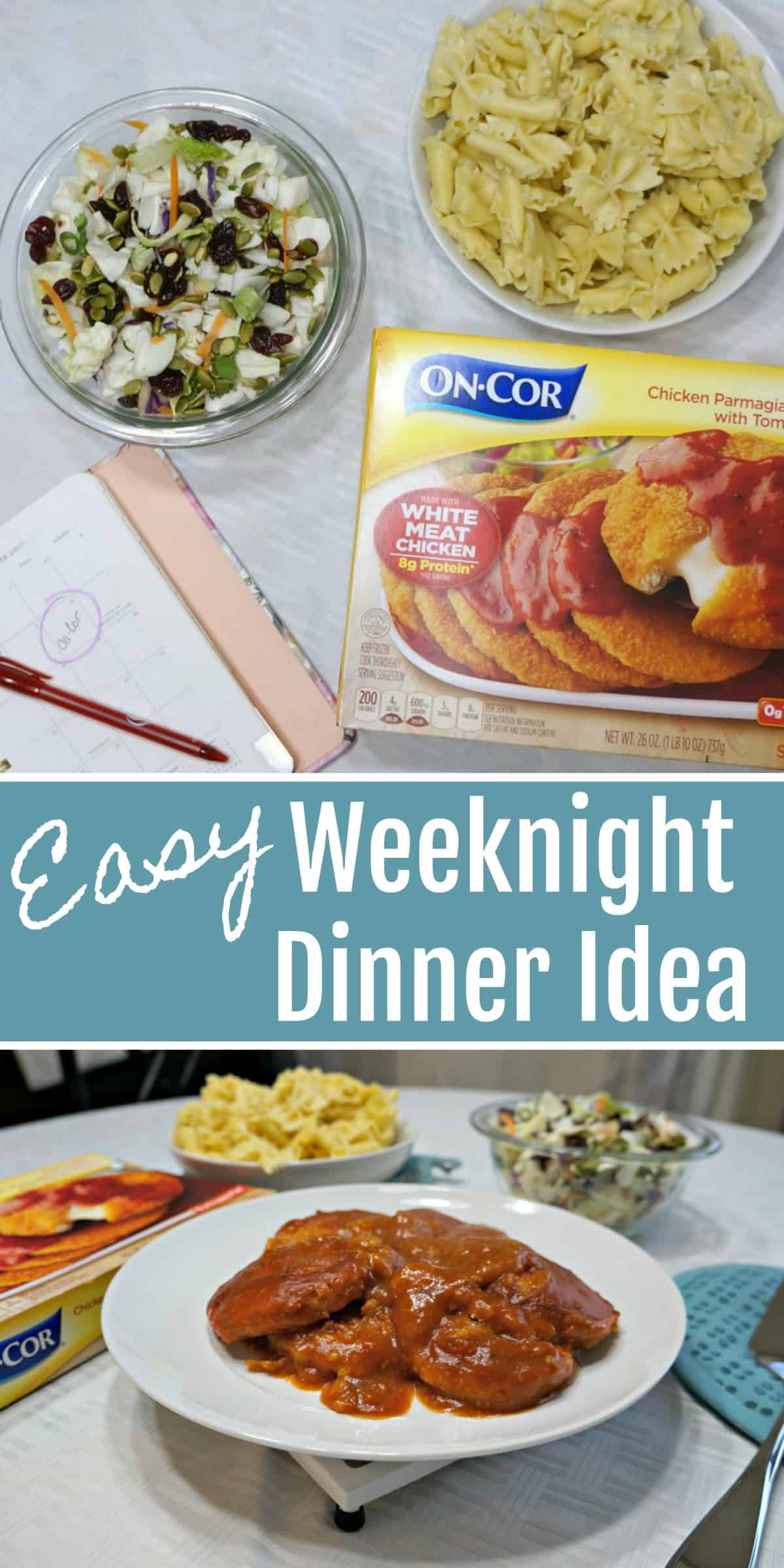 Easy Dinner Idea for Busy Families during the week