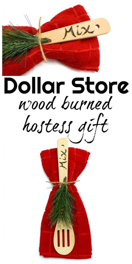 Get the full tutorial on how to make this wood burned hostess gift