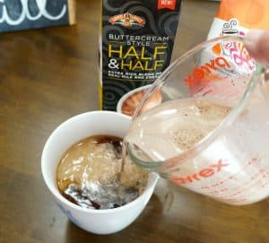 Recipe for cafe mocha