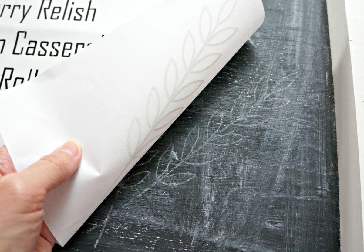 chalkboard lettering tutorial 1