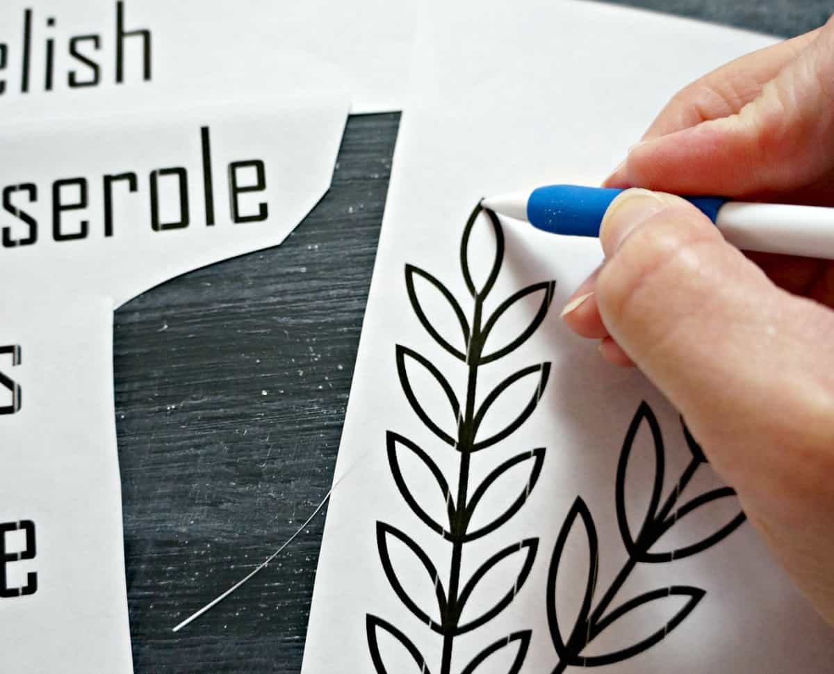 how to chalkboard lettering
