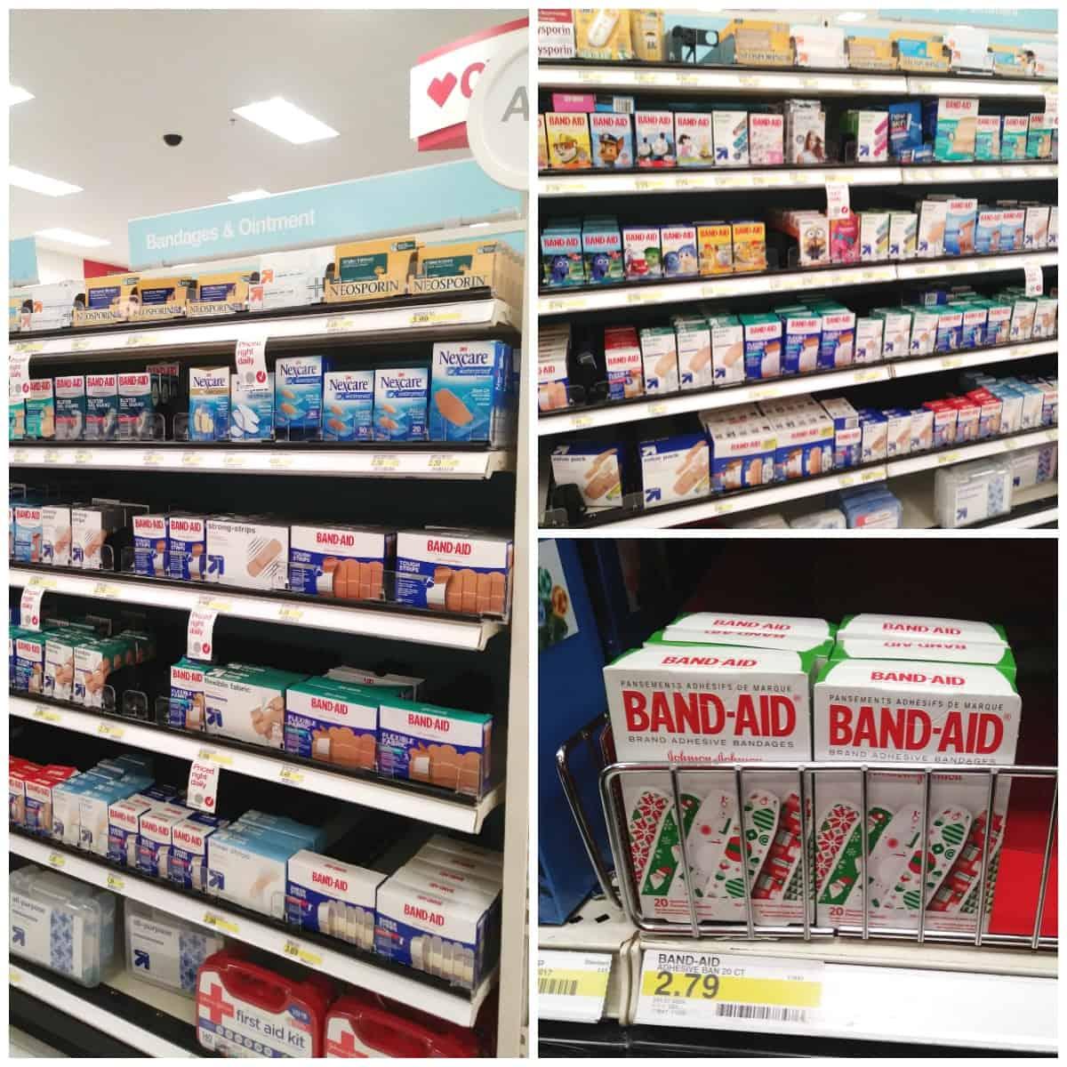 BAND-AID® Brand Adhesive Bandages at Target