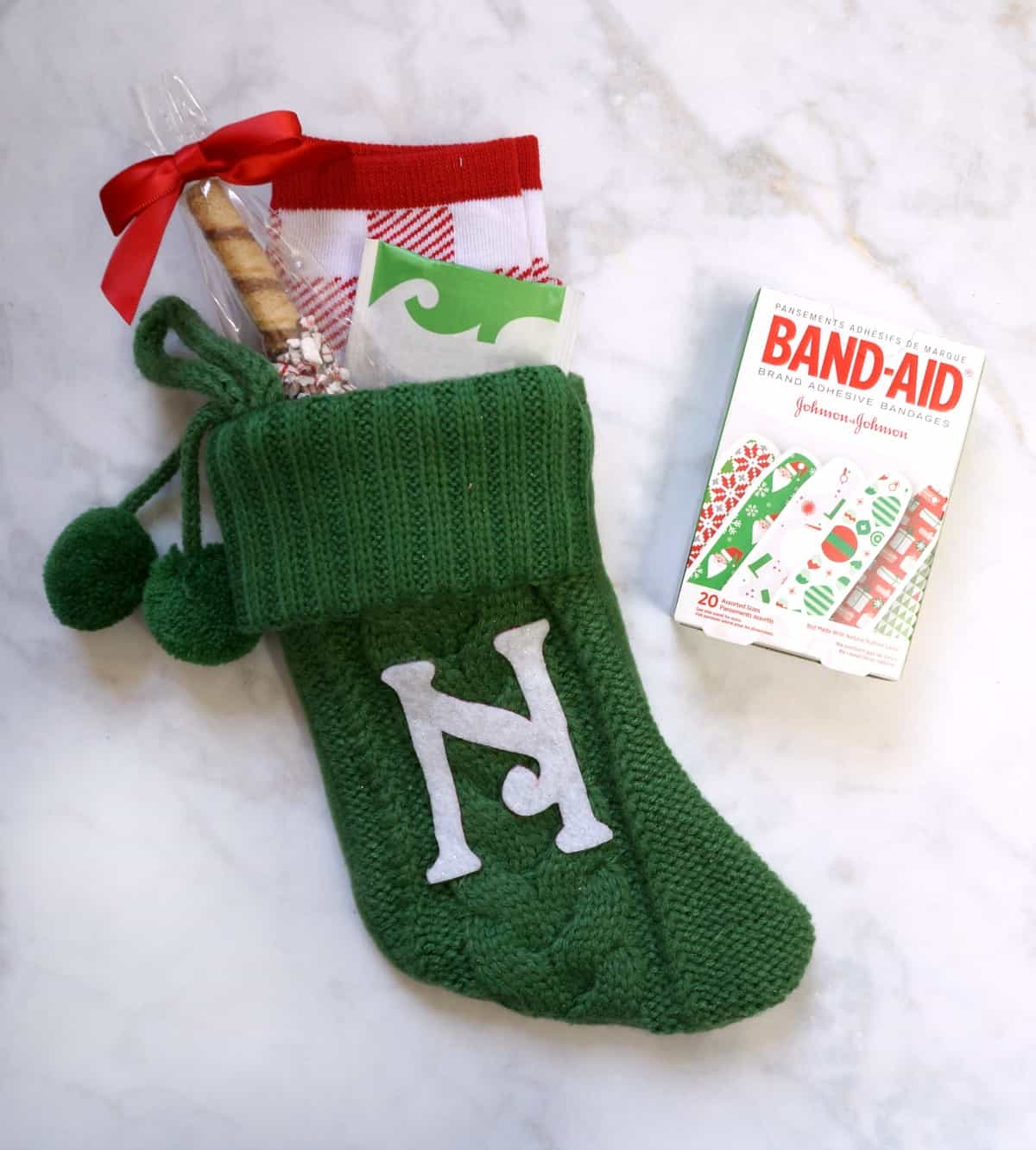 How to make a DIY personalized stocking teacher gift