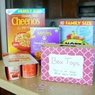 How to Collect Box Tops for Your School