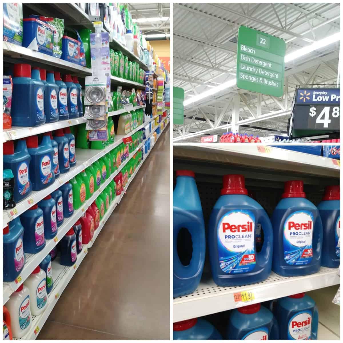Persil at Walmart