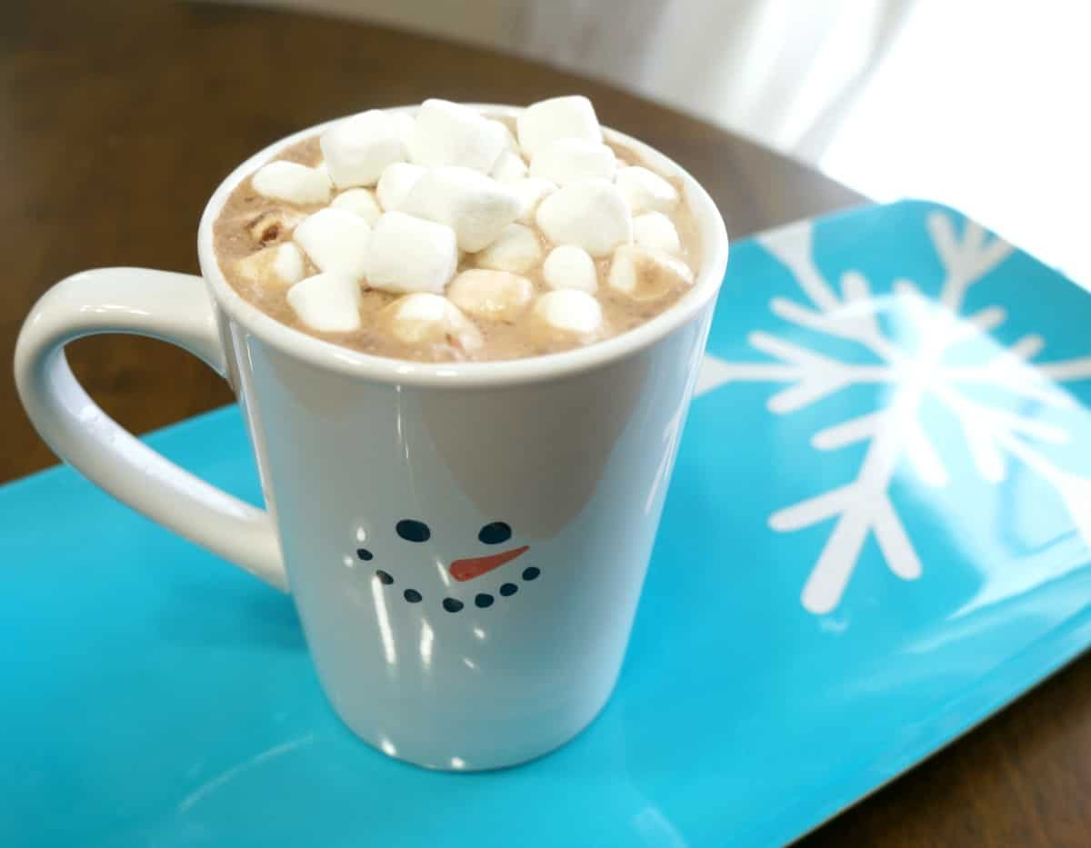 Snowman Hot Cocoa Mug