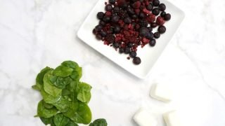 Berry and Spinach Smoothie Freezer Pack