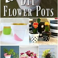 20+ DIY Flower Pots for Spring