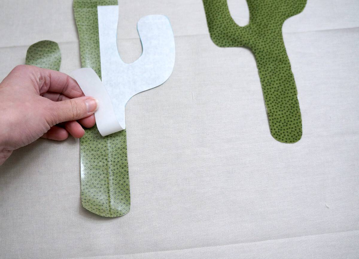 assemble a cactus pillow