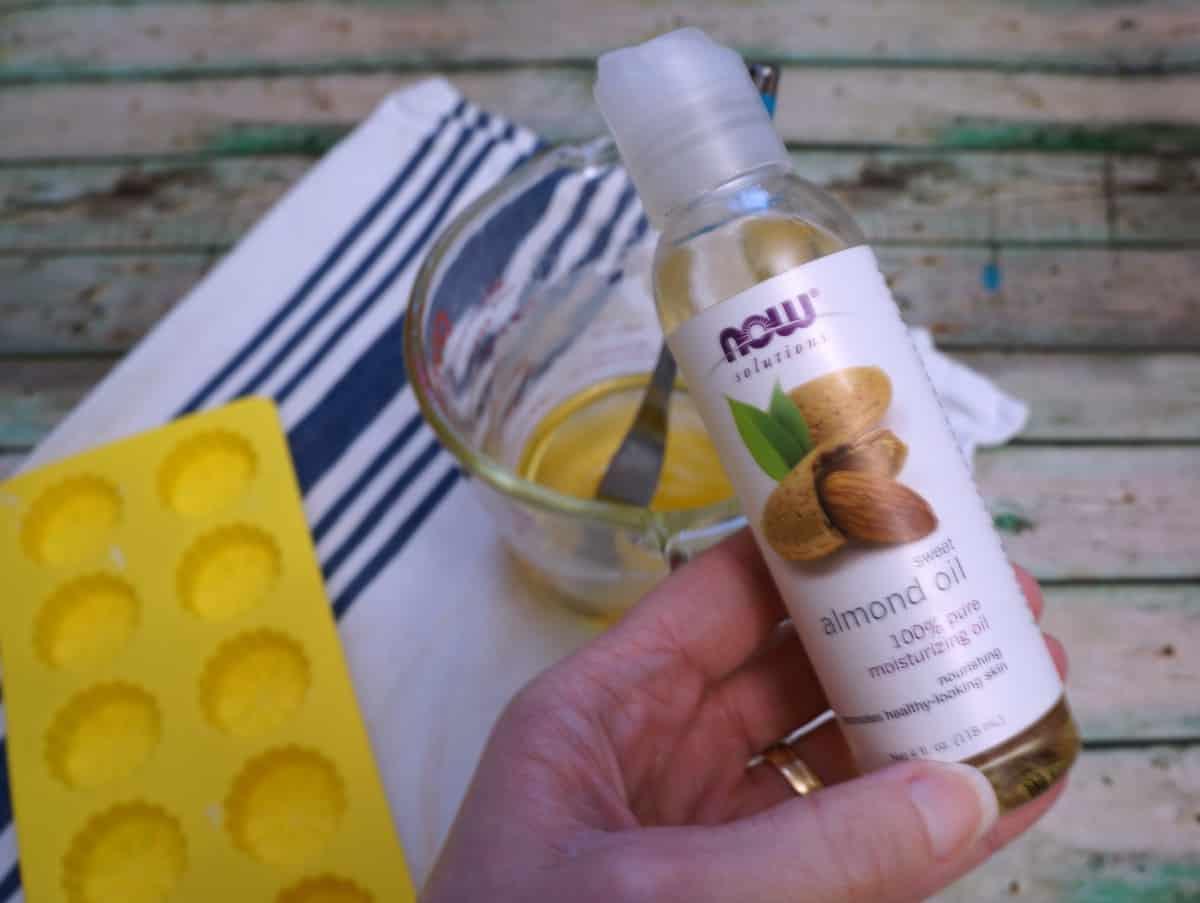 cuticle lotion bar almond oil
