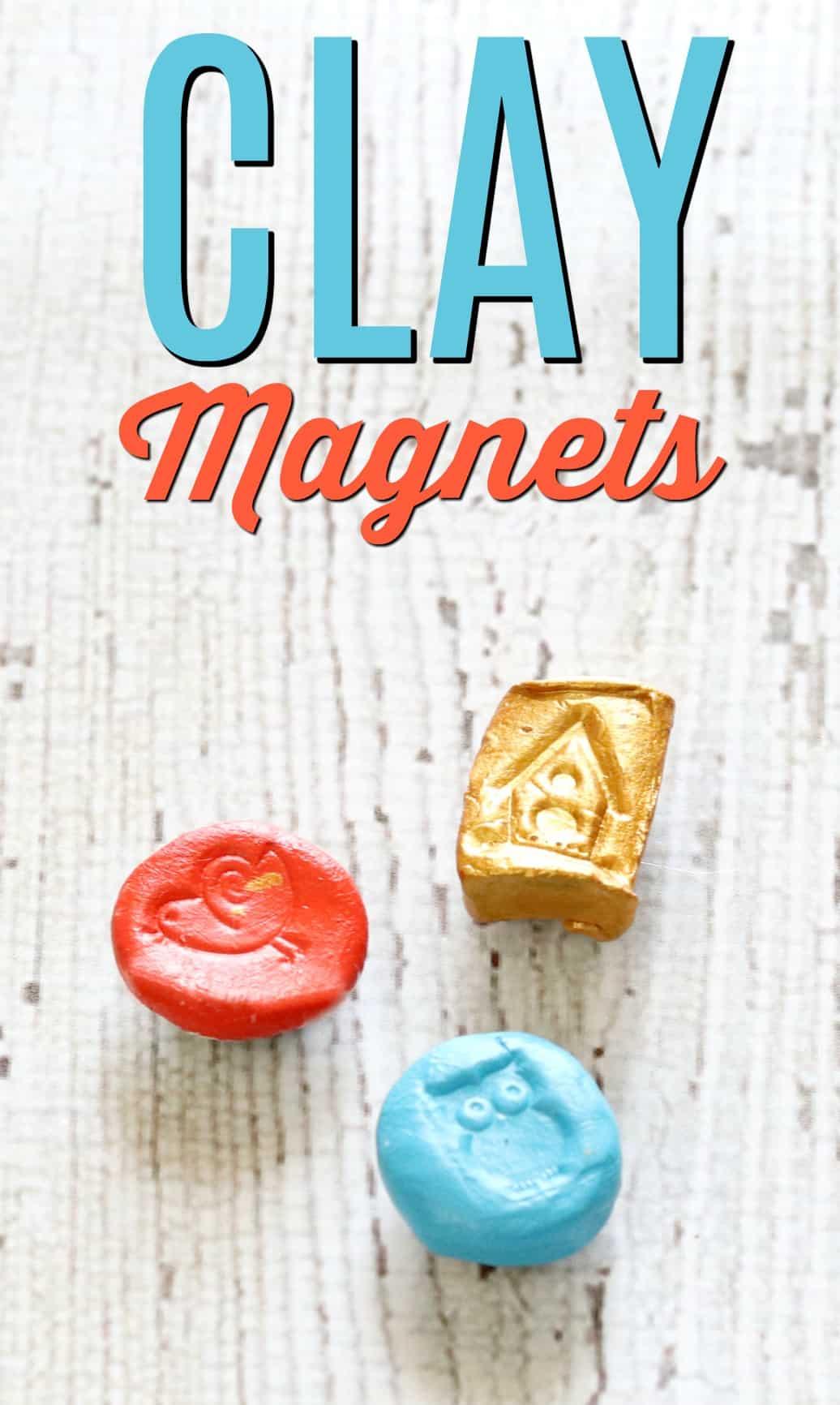 Air Dry Clay Magnets Creative Ramblings