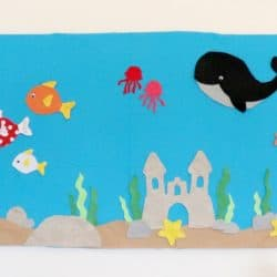 Aquarium Flannel Board with Free Templates