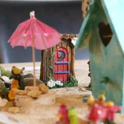 How to Make a Kid Friendly Indoor Fairy Garden