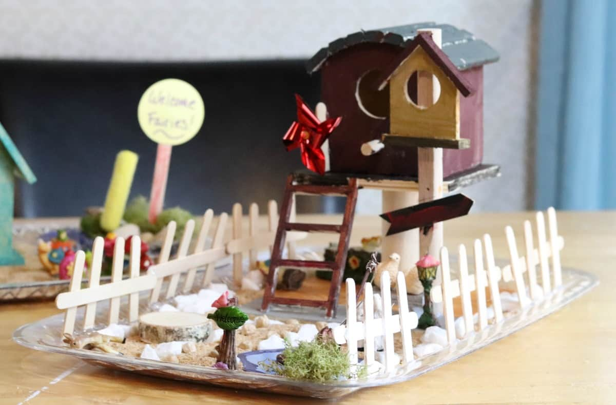 kid-friendly indoor fairy garden