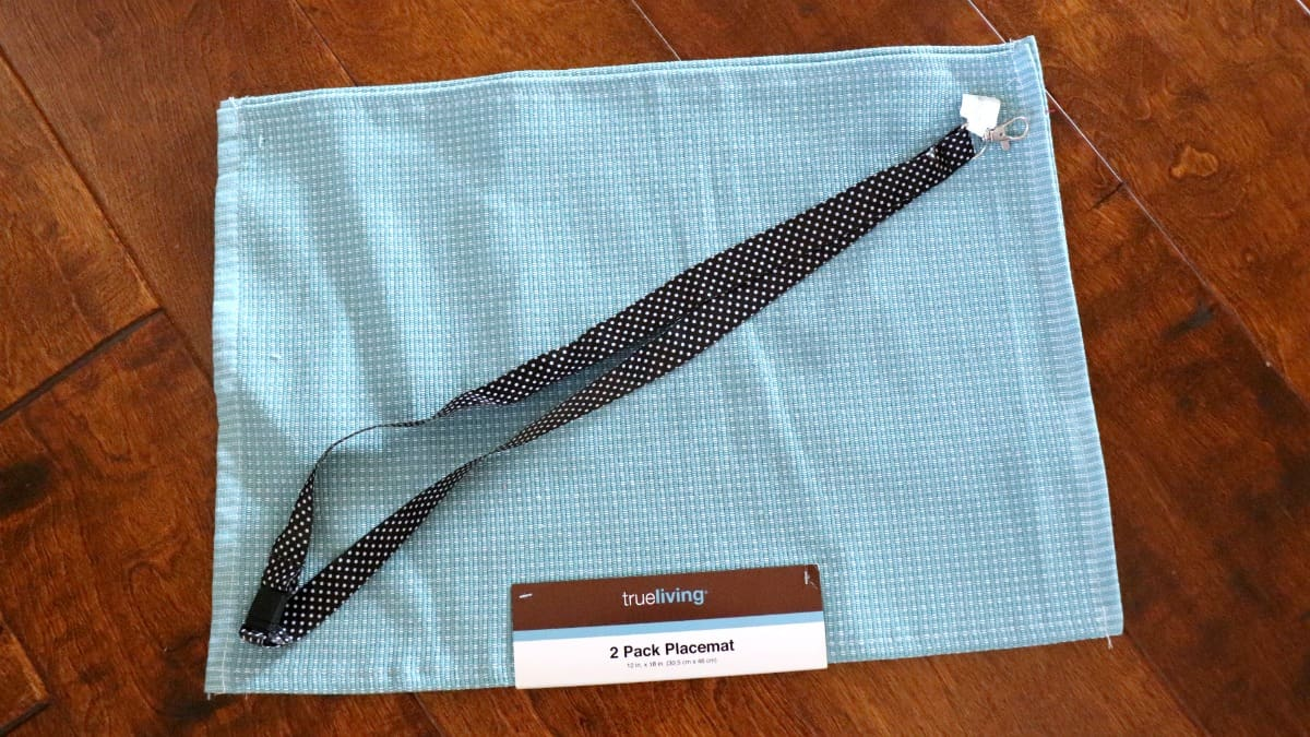 placemat bag supplies