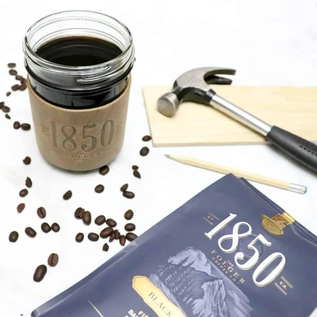 1850 brand coffee start your week like a boss