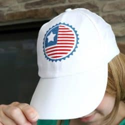 Dollar Store Red White and Blue Patriotic Hat