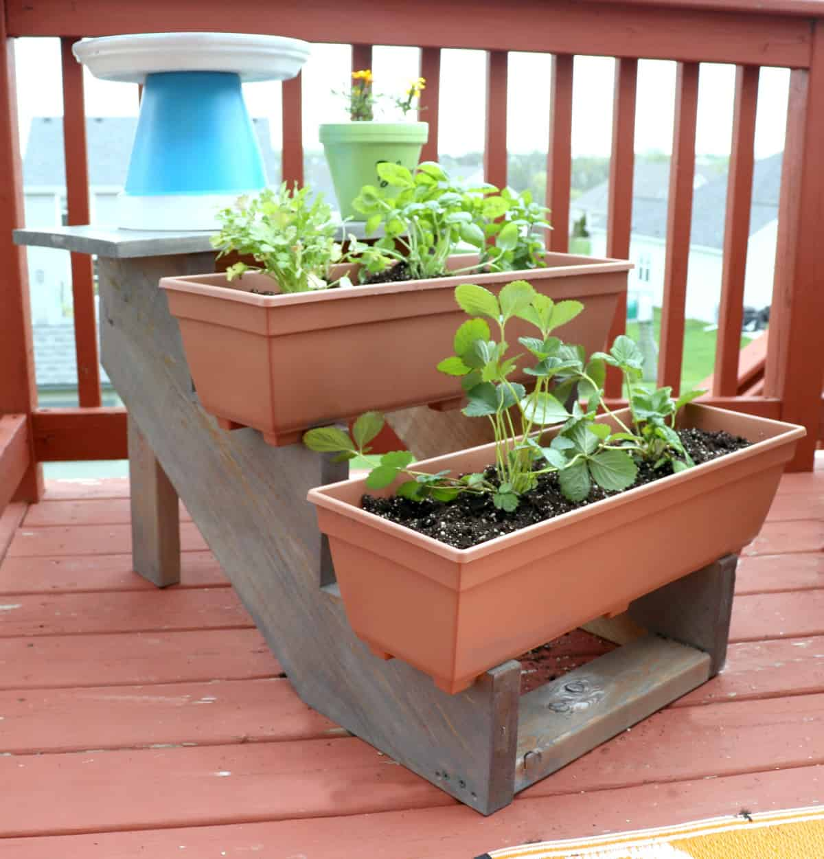 How to Build a Tiered Planter photo 1 - Creative Ramblings