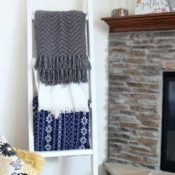How to Make a 2×4 Blanket Ladder