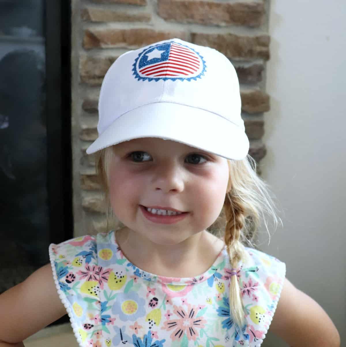 kids patriotic hat