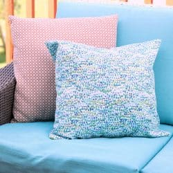 How to Sew an Outdoor Pillow