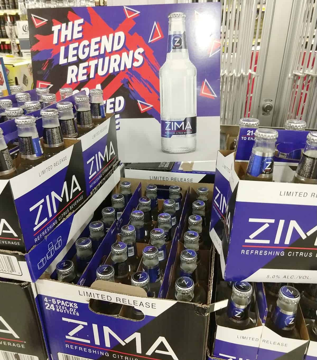 where to buy Zima