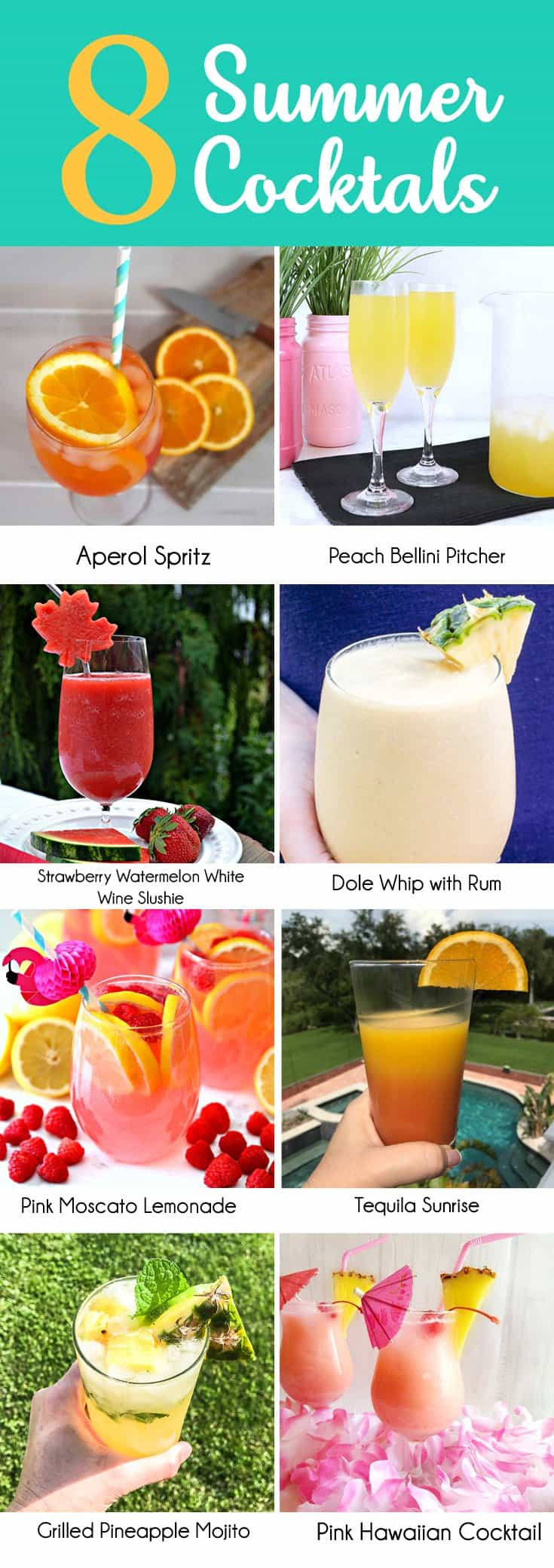 8 Summer Cocktails