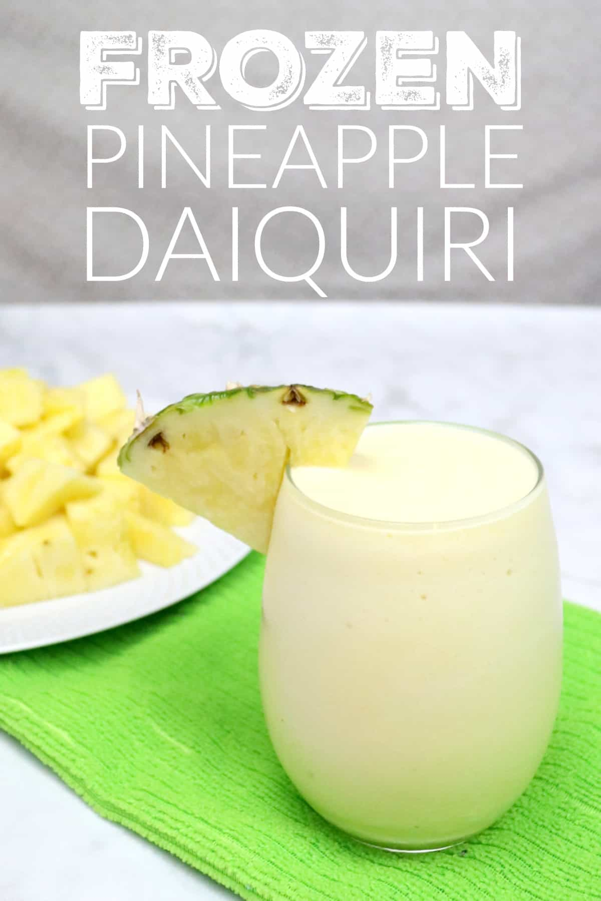 Frozen pineapple daiquiri recipe