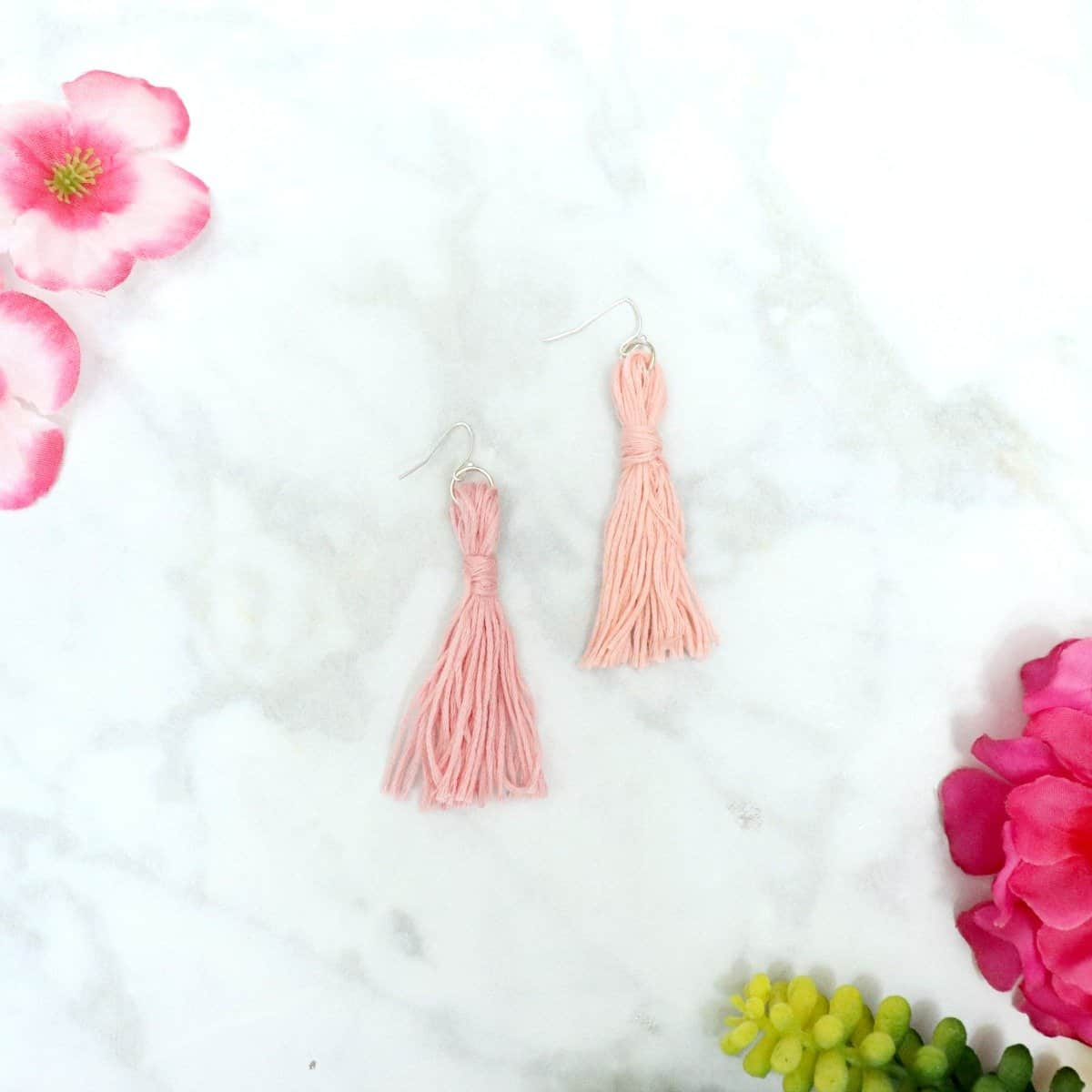 learn how to make tassel earrings