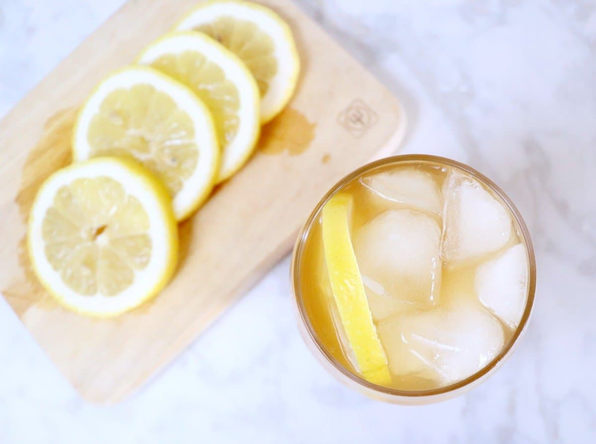 honey whiskey iced tea cocktail recipe