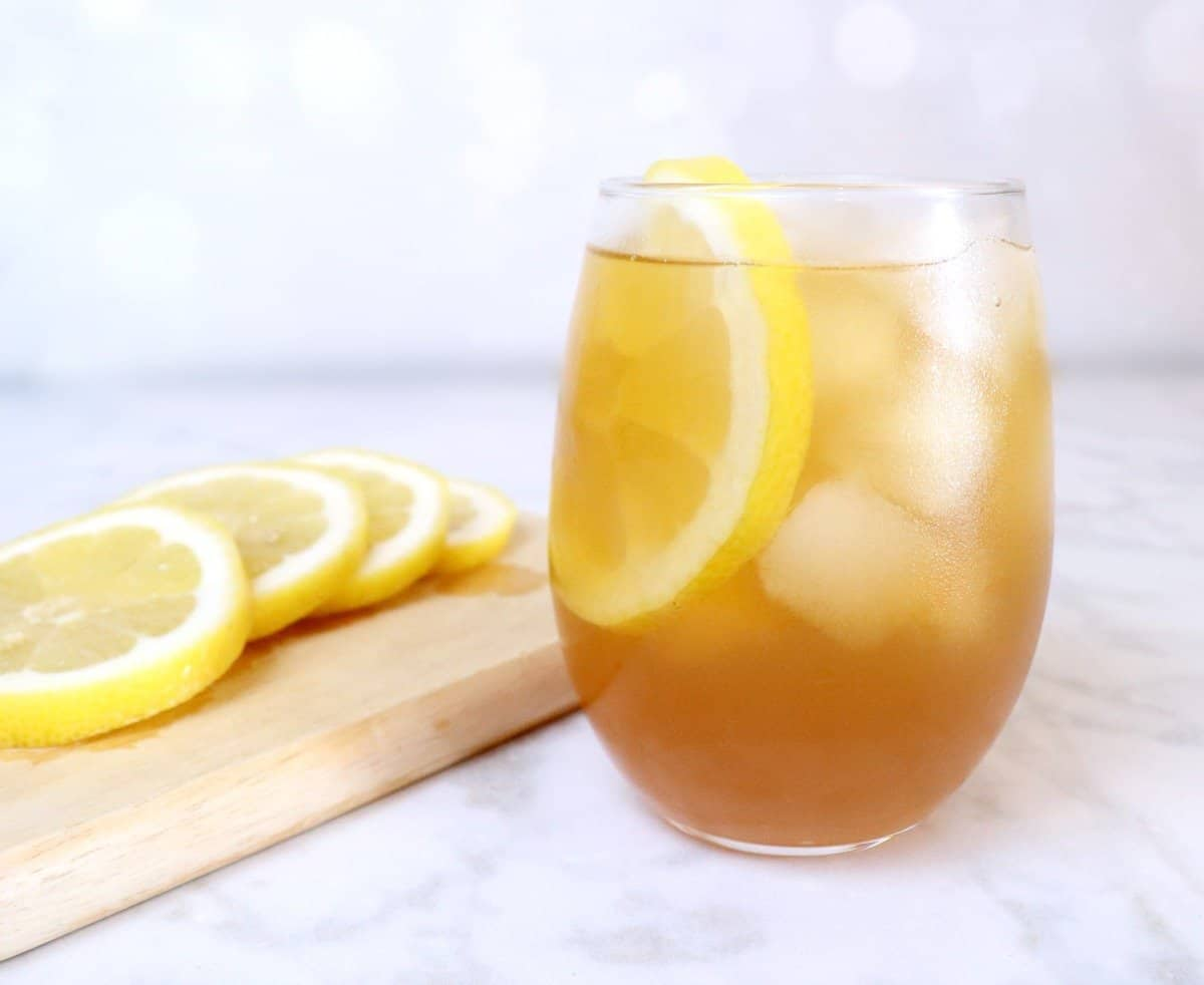 Honey Whiskey Iced Tea