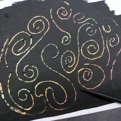 Make Your Own Scratch Art Paper