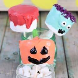 3 Ways to Make Halloween Marshmallows