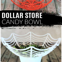 Dollar Store Candy Bowl