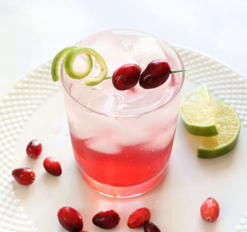Sparkling Vodka Cranberry Cocktail Creative Ramblings