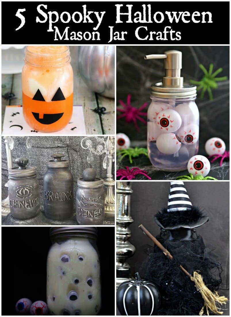 halloween mason jar crafts