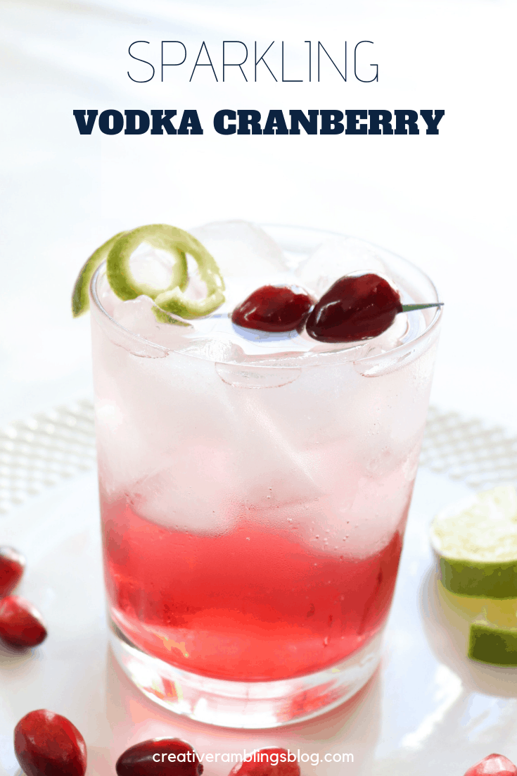 sparkling vodka cranberry pin