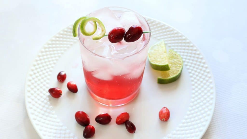sparkling vodka cranberry video image