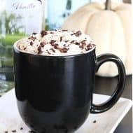 Spiked Pumpkin Spice Hot Chocolate