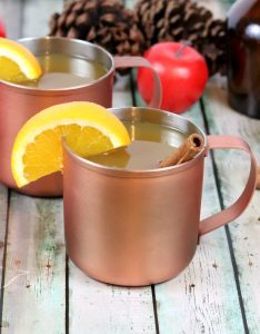 warm mulled apple cider recipe