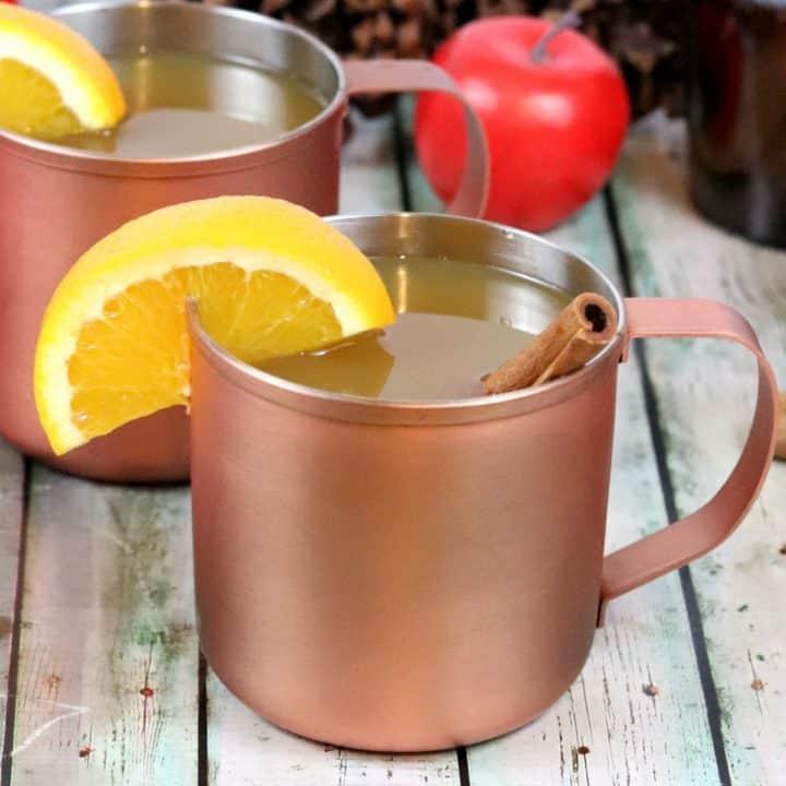 warm mulled apple cider recipe