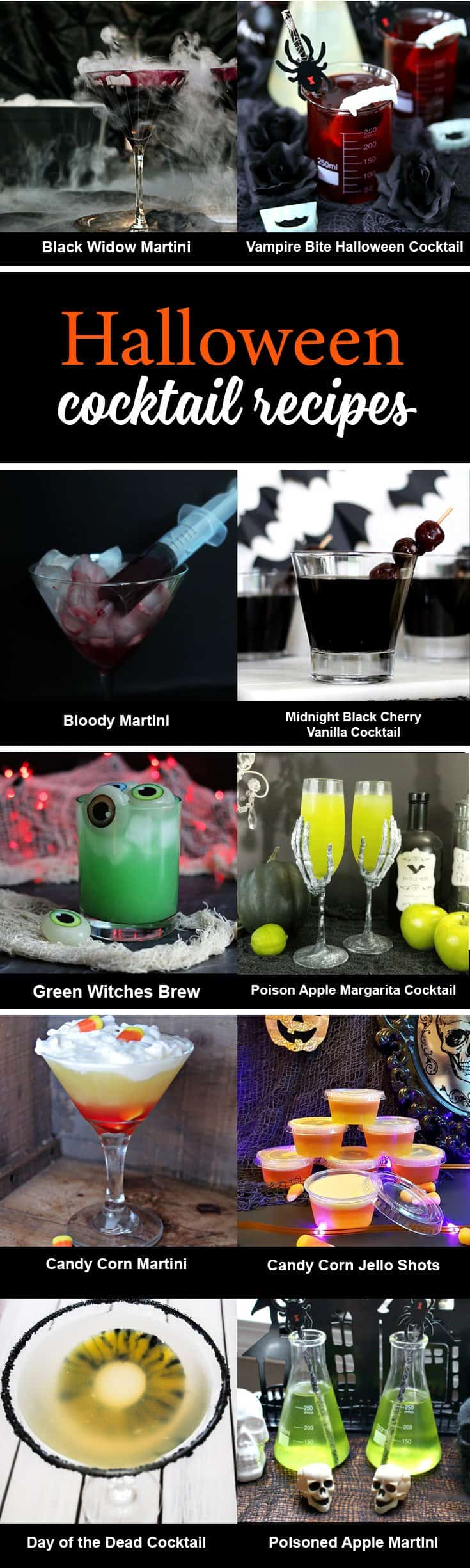 Green Witches Brew Halloween Cocktail Creative Ramblings