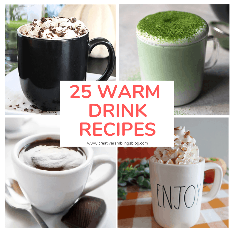 25 warm drink recipes square