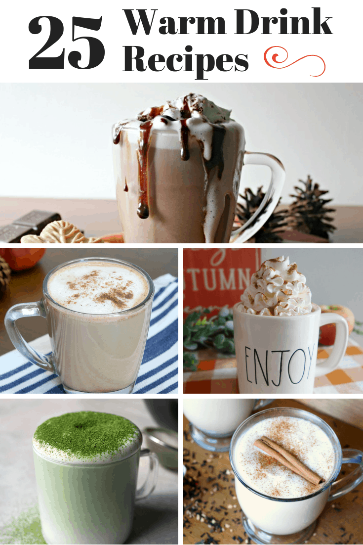 25 warm drink recipes